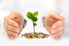 企业新概念的生活 免版税库存图片