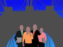 企业新的小组约克 免版税图库摄影