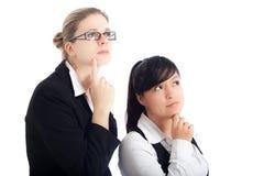企业新的远见妇女 免版税库存照片