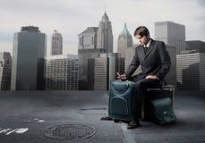 企业旅行 免版税图库摄影