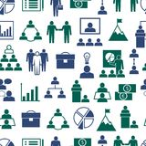 企业无缝的样式背景 向量 免版税图库摄影