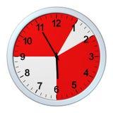 企业时间,时钟 图库摄影