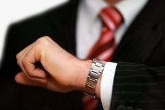 企业时间 免版税库存照片