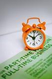 企业时间概念 库存照片