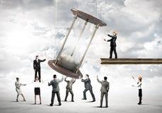 企业时间 免版税图库摄影