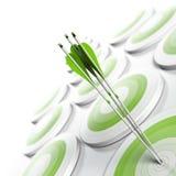 企业有战略意义概念的营销 库存照片