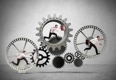 企业机制系统 免版税库存图片
