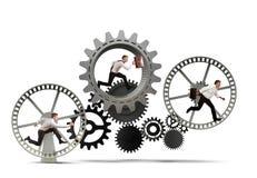 企业机制系统 免版税图库摄影