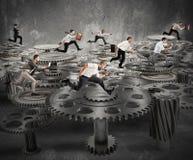 企业机制系统 库存照片