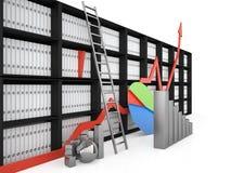 企业构想, 3D 免版税图库摄影