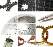企业构成主题 免版税库存图片