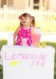 企业柠檬水开放立场 免版税库存图片