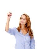 企业标记妇女 库存图片