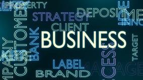 企业标记覆盖 向量例证