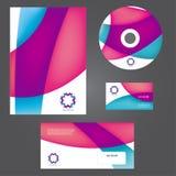 企业样式模板 免版税图库摄影