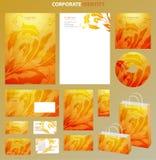 企业样式模板 免版税库存照片