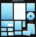 企业样式模板 免版税库存图片