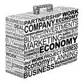 企业案件印刷术 免版税图库摄影