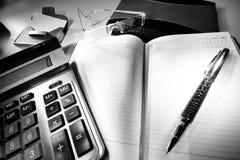 企业桌面 免版税库存图片