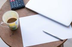 企业桌 免版税库存图片