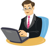 企业椅子人坐的诉讼关系 免版税库存图片