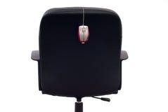 企业椅子鼠标 免版税图库摄影