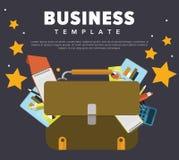 企业概念例证 库存照片