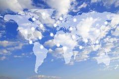 企业概念全球互联网 免版税图库摄影