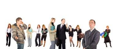 企业概念分集 免版税库存图片