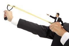 企业概念刺激 免版税库存照片