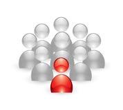 企业概念小组 库存照片