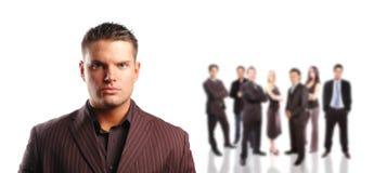 企业概念小组 免版税图库摄影