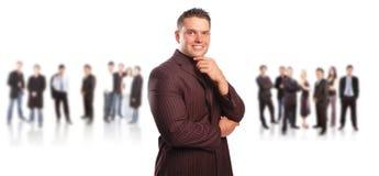 企业概念小组 免版税库存照片