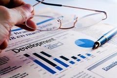 企业概念开发 免版税库存照片
