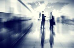 企业概念想法Coopration决定通信Concep 免版税库存照片