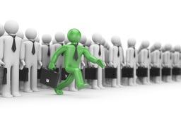 企业概念新创建的领导 库存照片