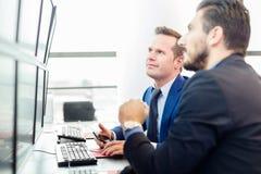 企业概念查出的成功白色 免版税库存图片