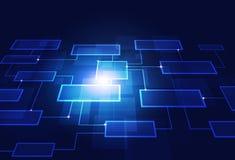 企业概念流程图 库存照片