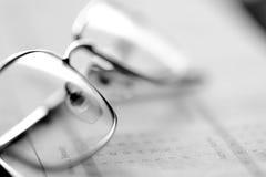企业概念玻璃办公室 免版税库存照片