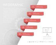 企业概念的抽象模板 库存照片