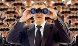 企业概念聘用 免版税库存图片