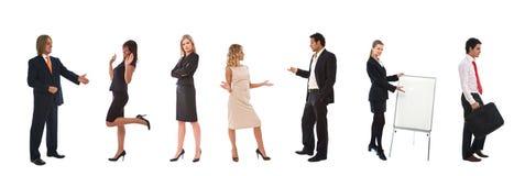 企业概念配合 免版税库存图片