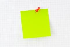 企业概念附注提示 免版税库存图片