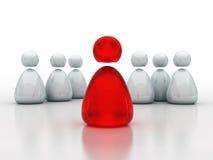企业概念领导小组 库存照片