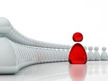 企业概念领导小组 免版税库存照片