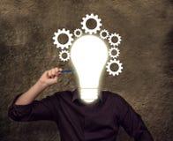 企业概念:想法 免版税库存图片