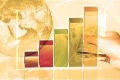 企业概念财务 图库摄影