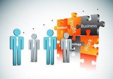 企业概念 免版税库存照片