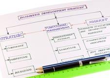 企业模式成功 免版税库存图片