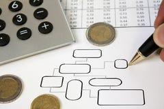 企业模式 免版税库存图片